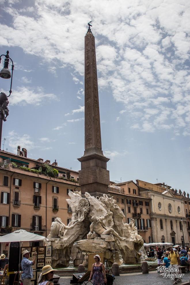 Säule in Rom