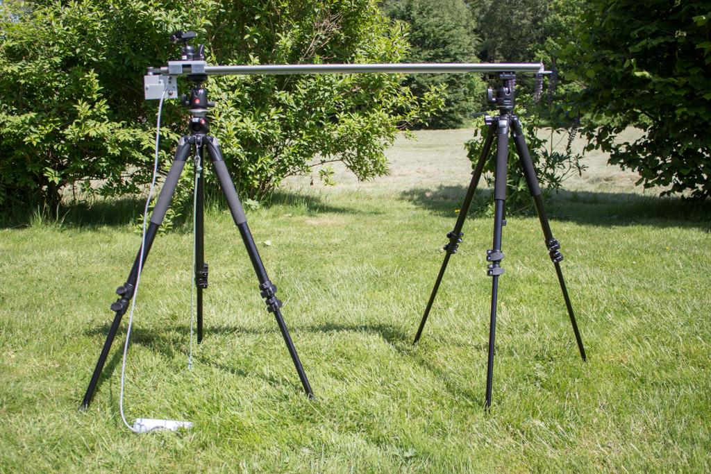 Slider für Kamerafahrten