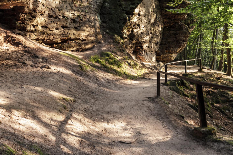 Sandsteinfelsen in der Böhmischen Schweiz